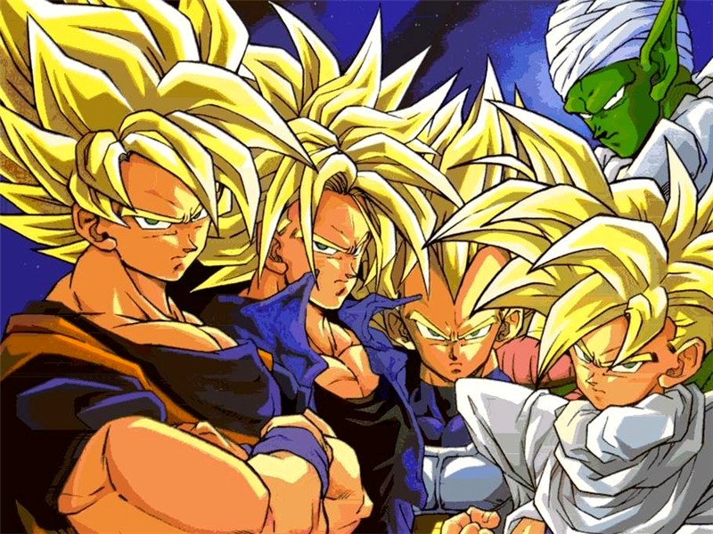Dragon ball fonds d 39 cran - Tout les image de dragon ball z ...