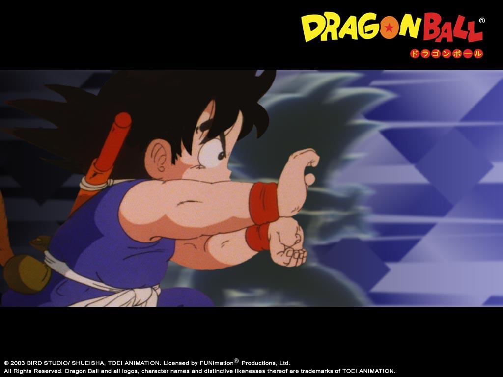 Dragon ball fonds d 39 cran - Petit sangoku ...