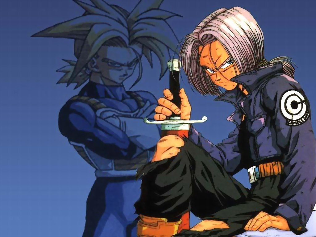 Future Goten And Trunks Dragon Ball - Fonds d'...