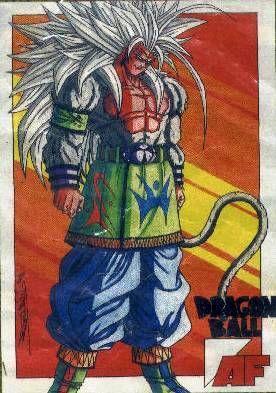 Dragon ball AF : Sangoku Super saiyen 5