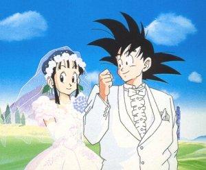 Sangoku et chichi le mariage