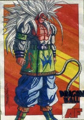 Dragon ball AF : Sangoku Super saiyen 5