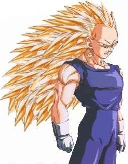 Dragon ball AF : Vegeta super saiyen 3