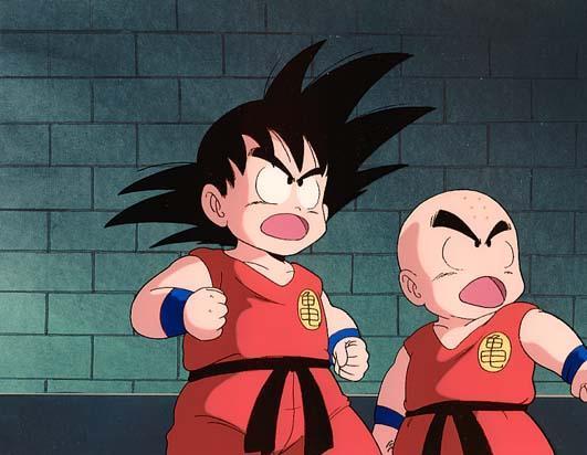Sangoku et Krilin