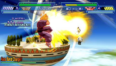 Jeu Dragon Ball Z : Shin Budokai - Another Road